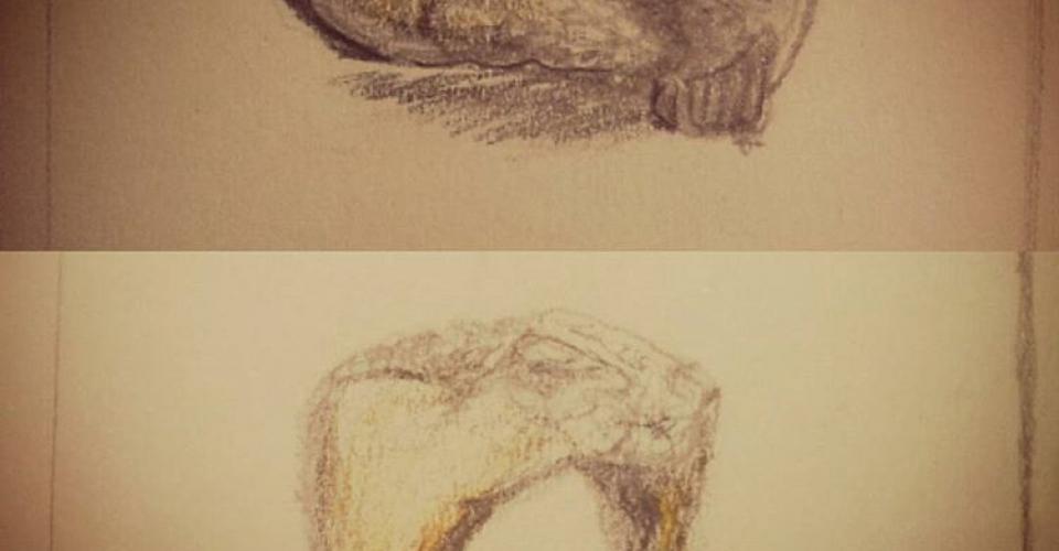 tekening johan en ankie